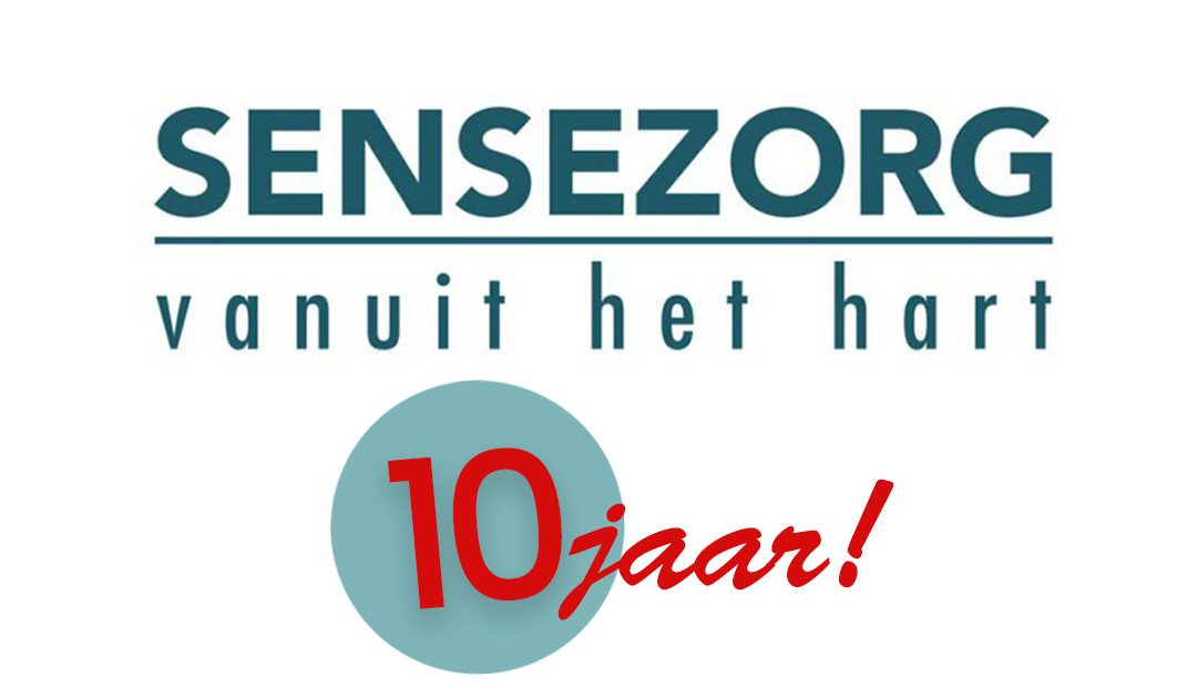 10 jaar SenseZorg